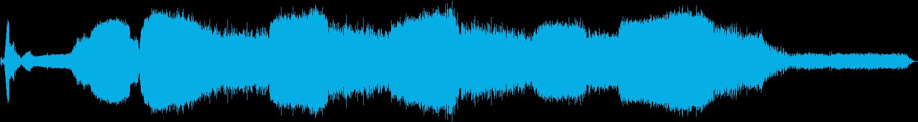 1962ジャガータイプE:内線:オ...の再生済みの波形