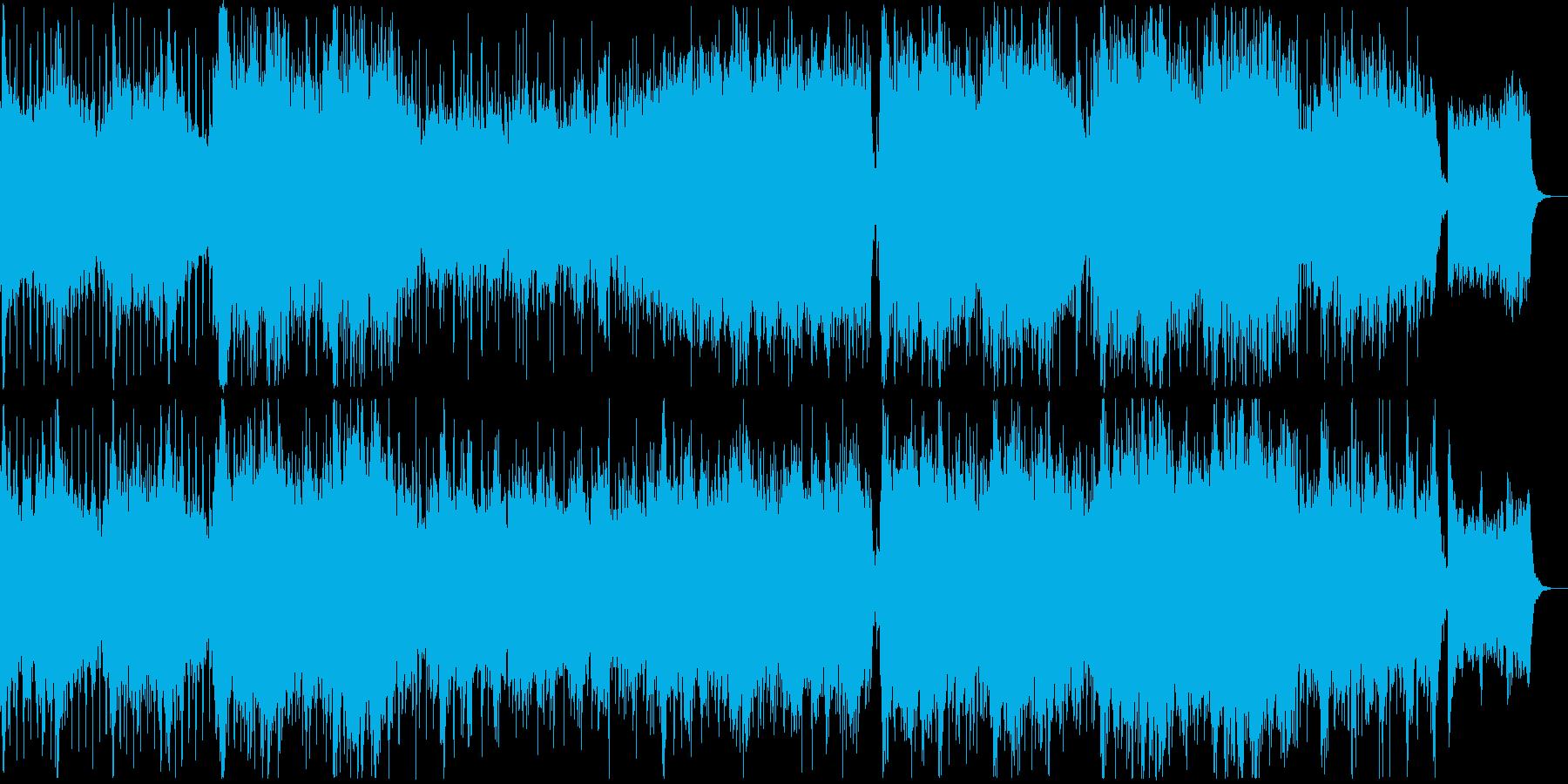 希望に満ち溢れた壮大なクラシックの再生済みの波形