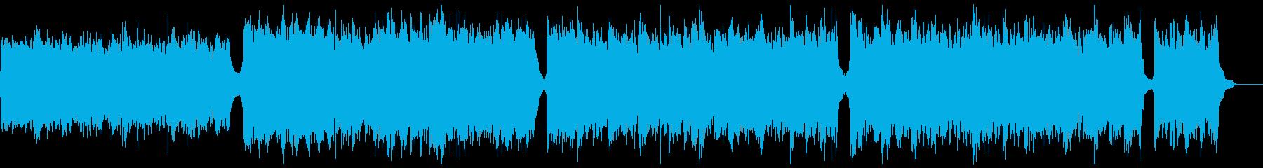 知的なシネマティックピアノ:メロディ無2の再生済みの波形