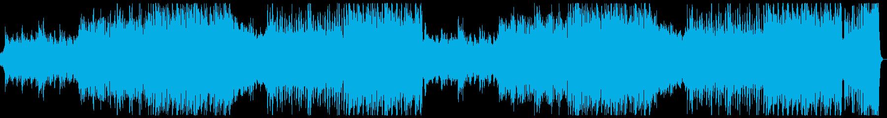 希望に満ち前向きで壮大なマーチxフル2回の再生済みの波形