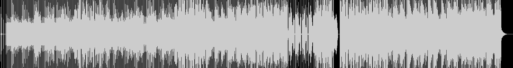 曖昧なハートビートの未再生の波形