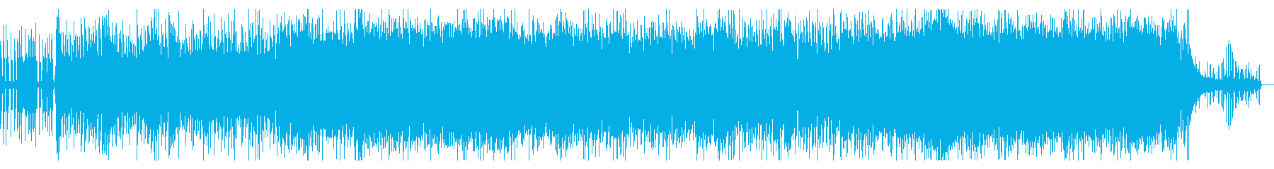 ゲーム映像和風オーケストラエキサイトの再生済みの波形
