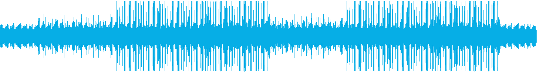 Lo-Fi Pianoの再生済みの波形