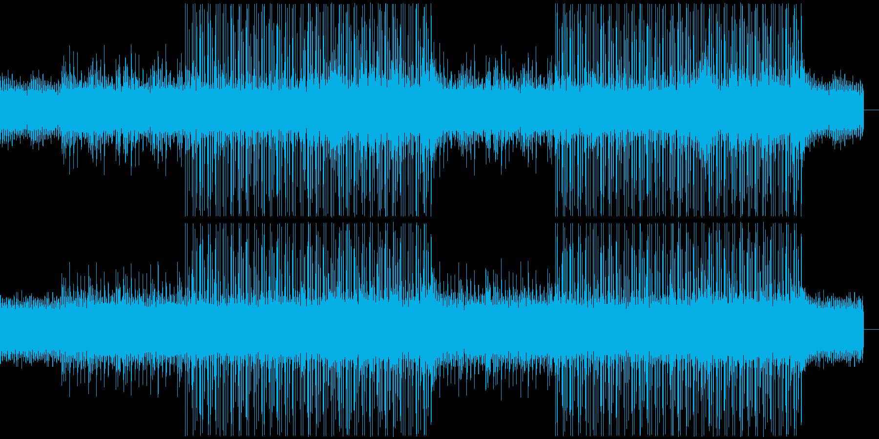 CMや映像、ローファイ、ピアノ、可愛いaの再生済みの波形