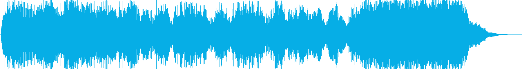 Orchestra, spectacular jingle's reproduced waveform