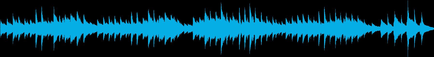 童謡「春の小川」ループ仕様ピアノソロの再生済みの波形