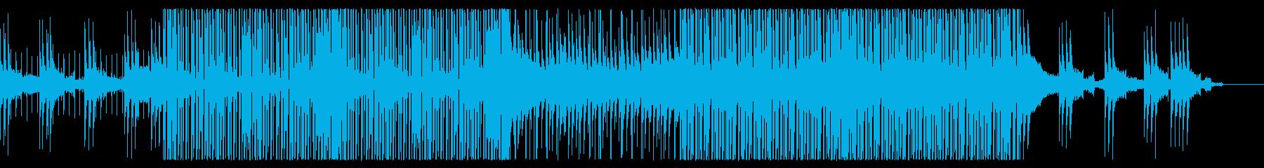 爽やかトロピカルハウス/夏と海のポップの再生済みの波形