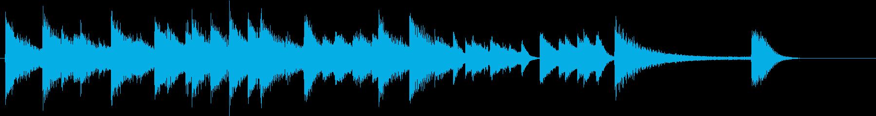 Xmasに♪世界に告げよピアノジングルEの再生済みの波形