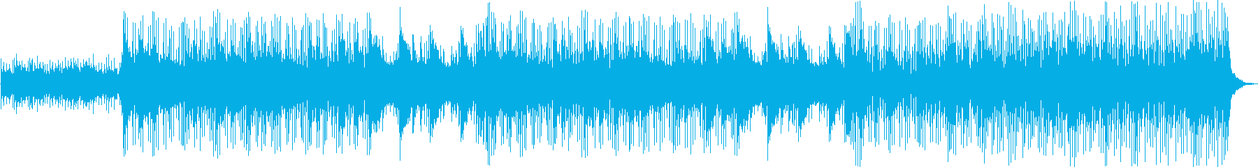 優しく遊び心のあるストリングスの再生済みの波形