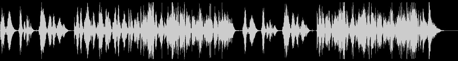 アコーディオンで奏でるロマンチックワルツの未再生の波形