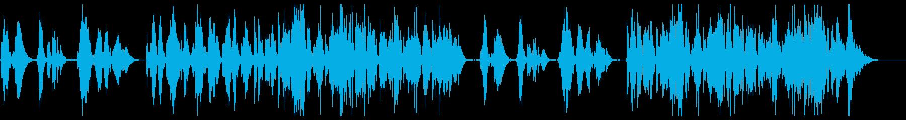アコーディオンで奏でるロマンチックワルツの再生済みの波形