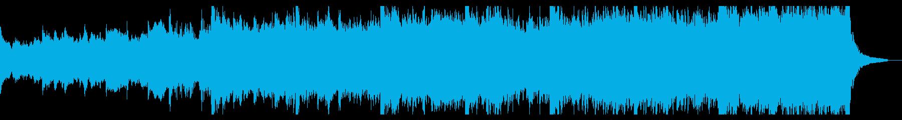 強力で感情的なオーケストラキュー。...の再生済みの波形