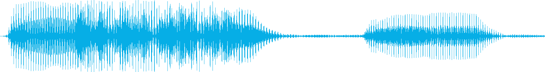 パフ(ラッパ・ギャグ系)の再生済みの波形