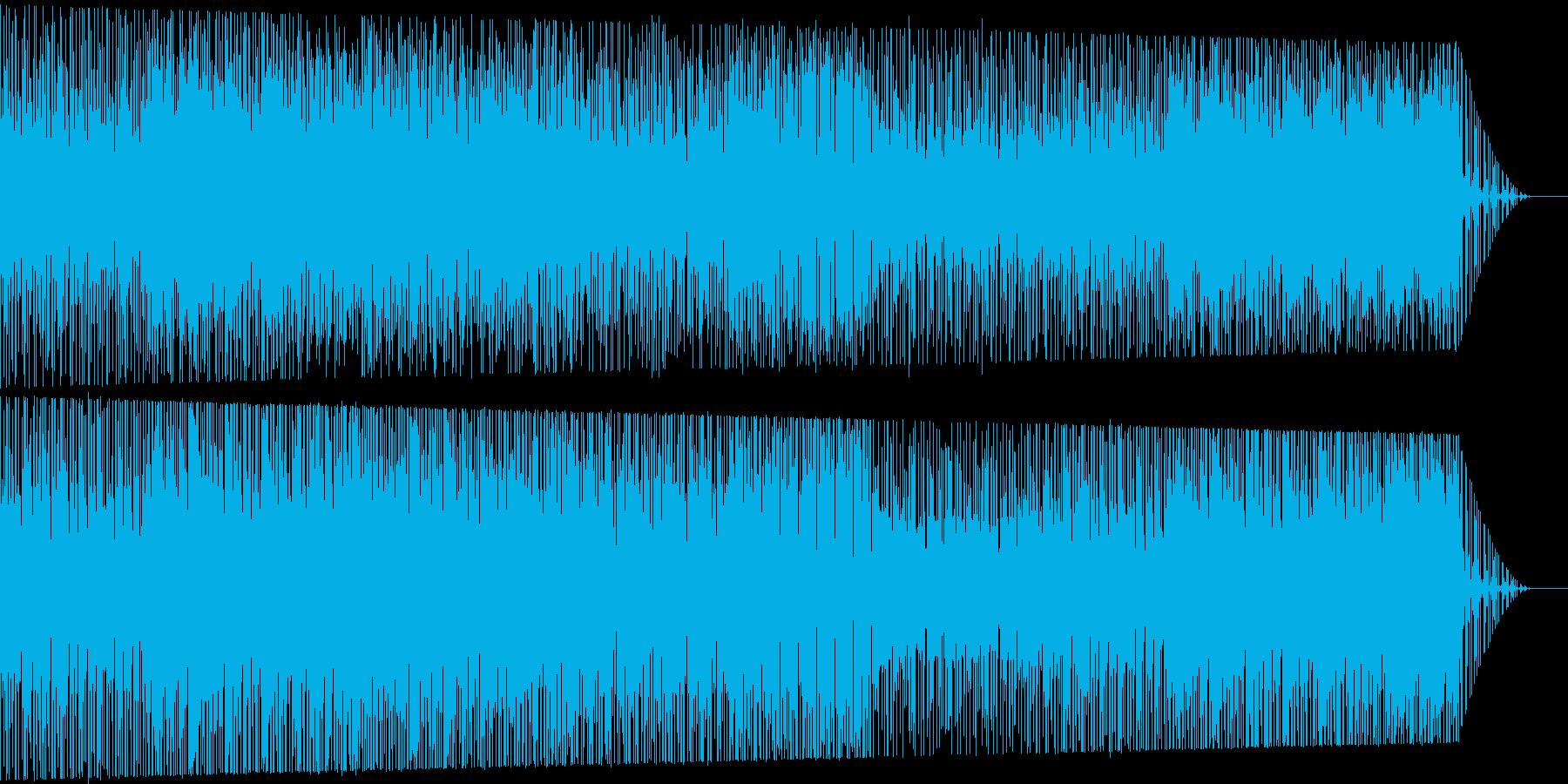 インド風エスニックBGMですの再生済みの波形