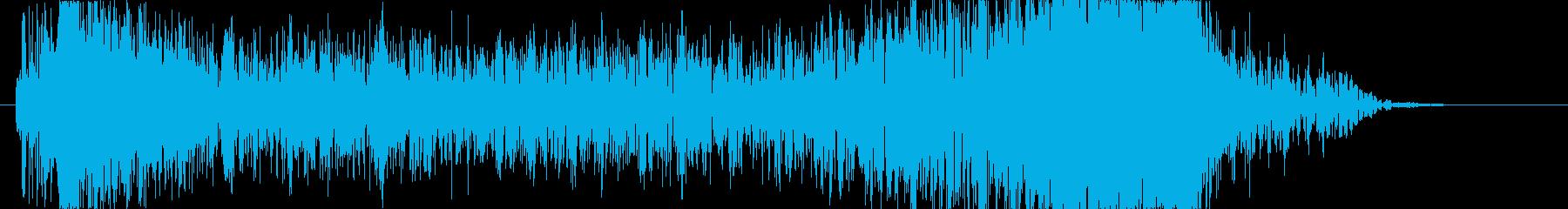 トランジション プロモーションパッド75の再生済みの波形