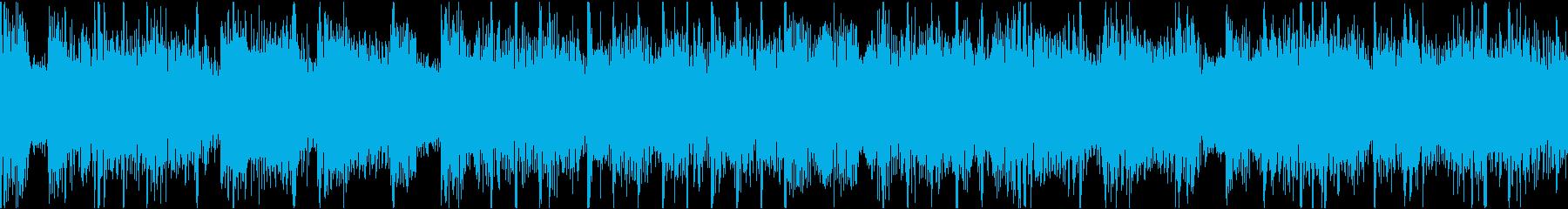 濃厚感あるダイレクトな音楽の再生済みの波形