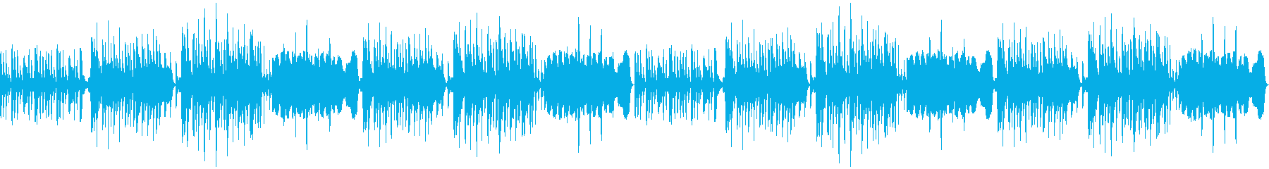 【ループ】RPGで使用する街・会話等の曲の再生済みの波形