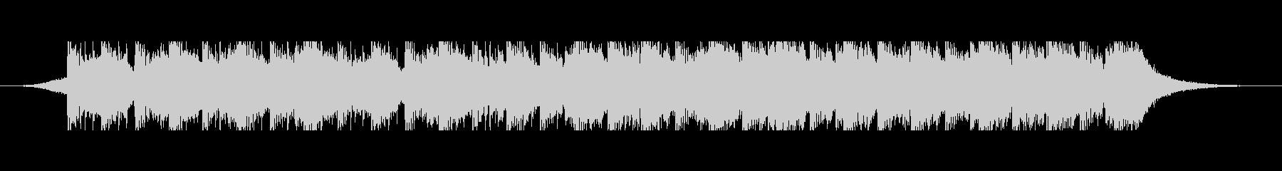 砂漠のキャラバン(60秒)の未再生の波形