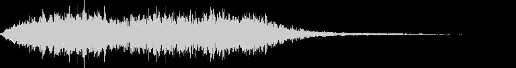 クワイヤ コーラス サウンドロゴの未再生の波形