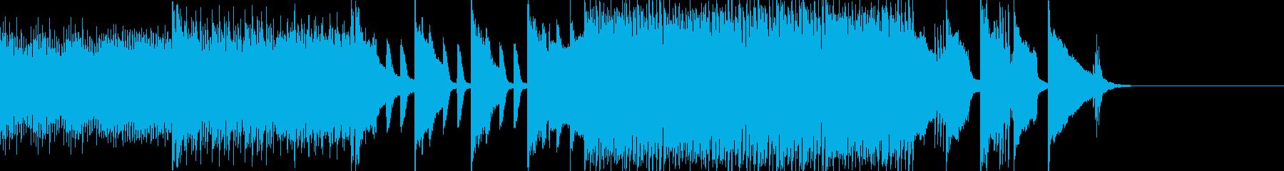 天才科学者の大発見をイメージしたBGMの再生済みの波形