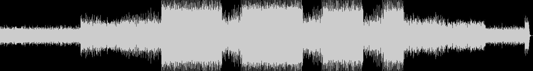 ドラムンベースですの未再生の波形