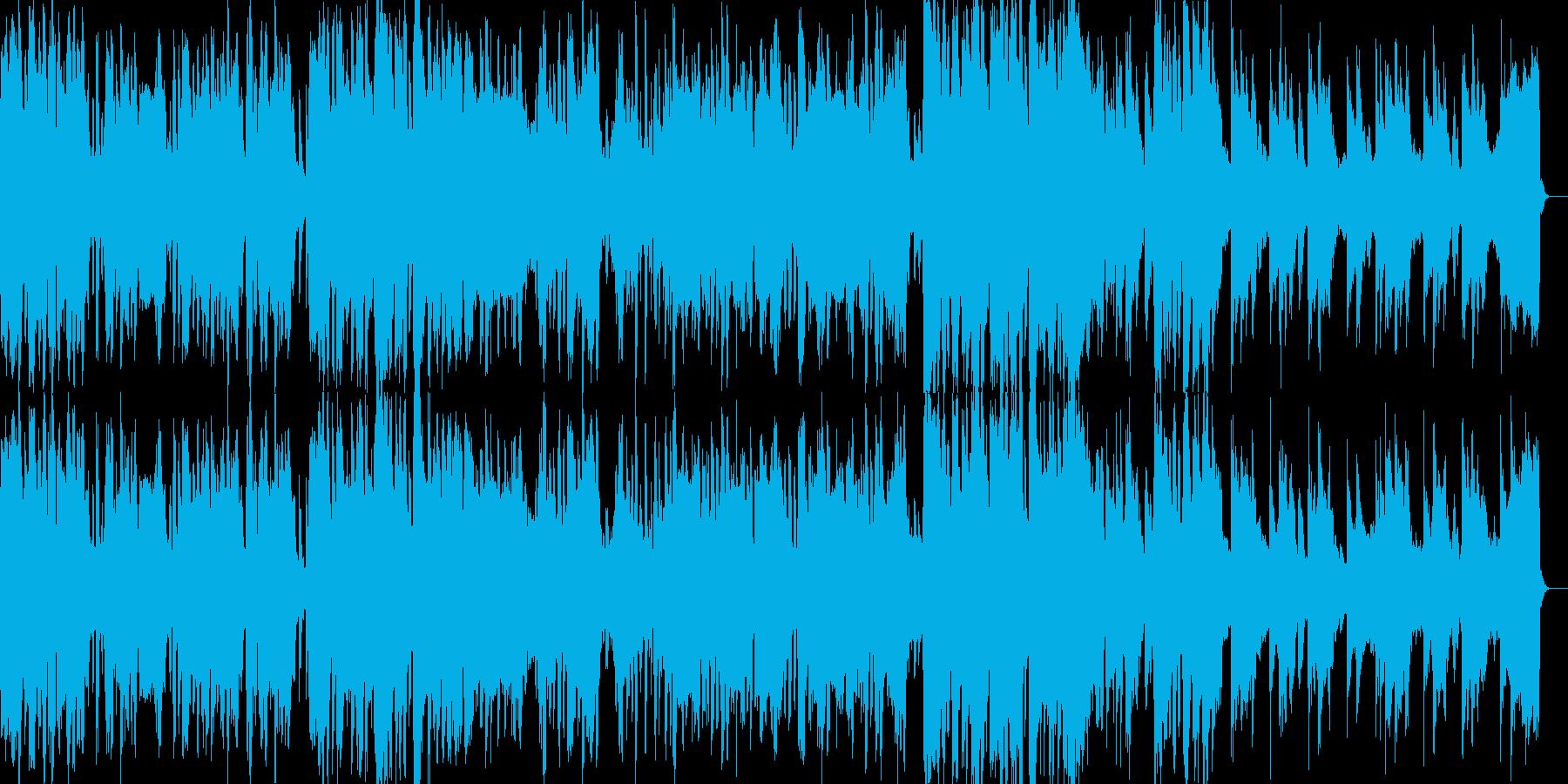 【CM】アブストラクト & トロピカルの再生済みの波形