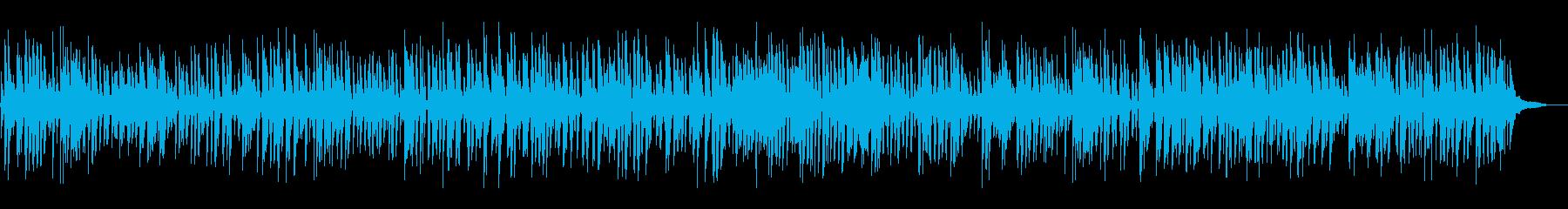お洒落アコースティックジャズピアノトリオの再生済みの波形