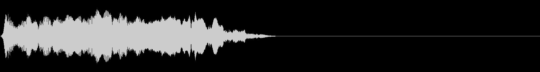 トーンハーモニーugい秋b wavの未再生の波形
