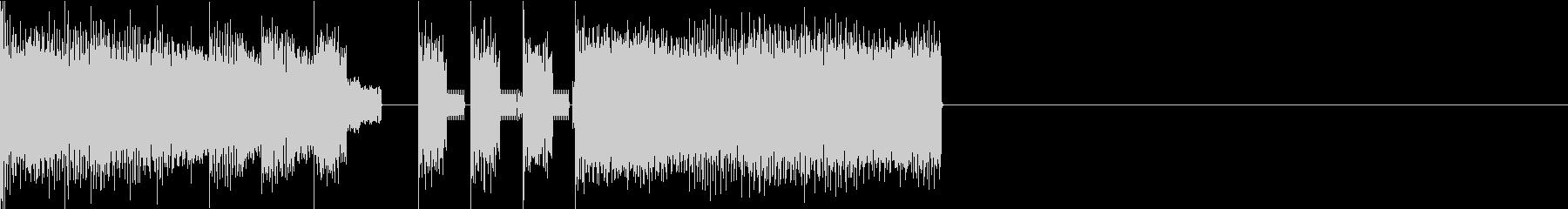ファミコン風ファンファーレ1の未再生の波形