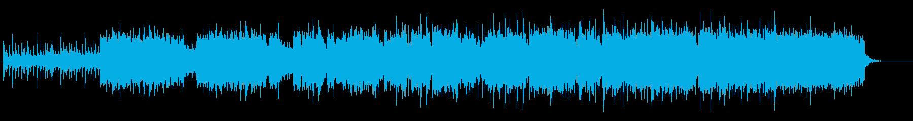 和楽器を使った日本のオリジナル曲の再生済みの波形