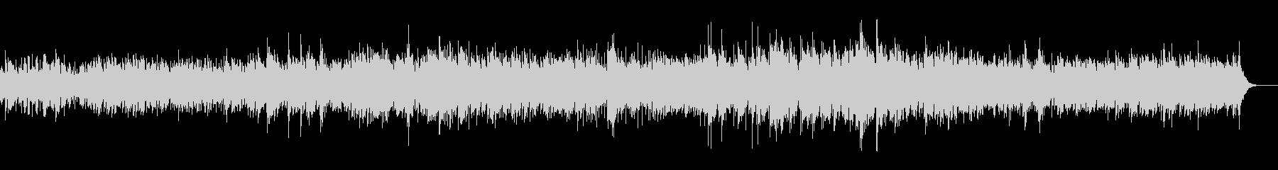 沖縄音階をテーマにした可愛らしいBGMの未再生の波形