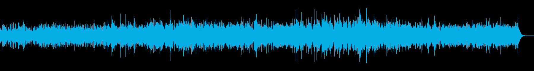 沖縄音階をテーマにした可愛らしいBGMの再生済みの波形