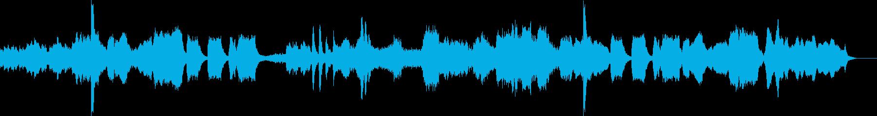怪しいホラーテイストなクラシックの再生済みの波形