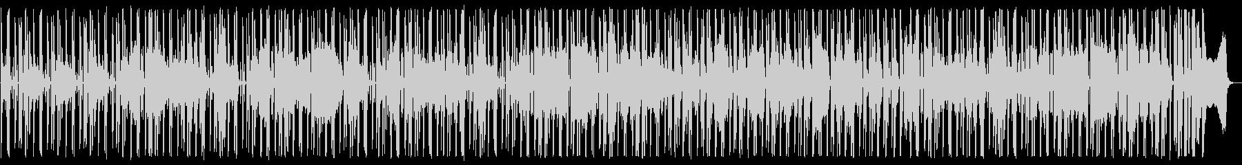 ハードボイルドな探偵_調査BGMの未再生の波形