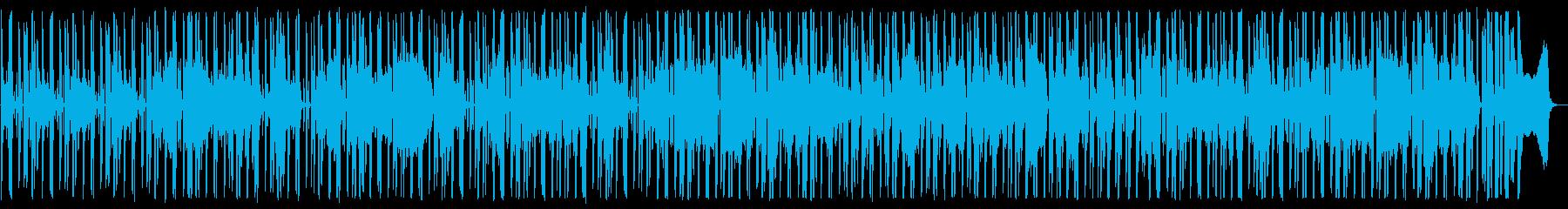 ハードボイルドな探偵_調査BGMの再生済みの波形