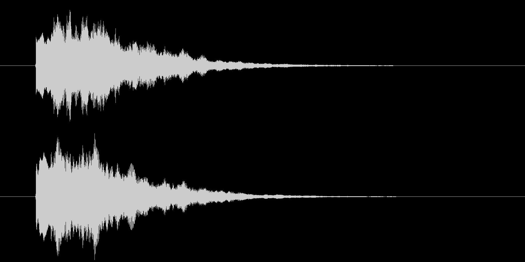 ゲーム、クイズ(正解)_011の未再生の波形