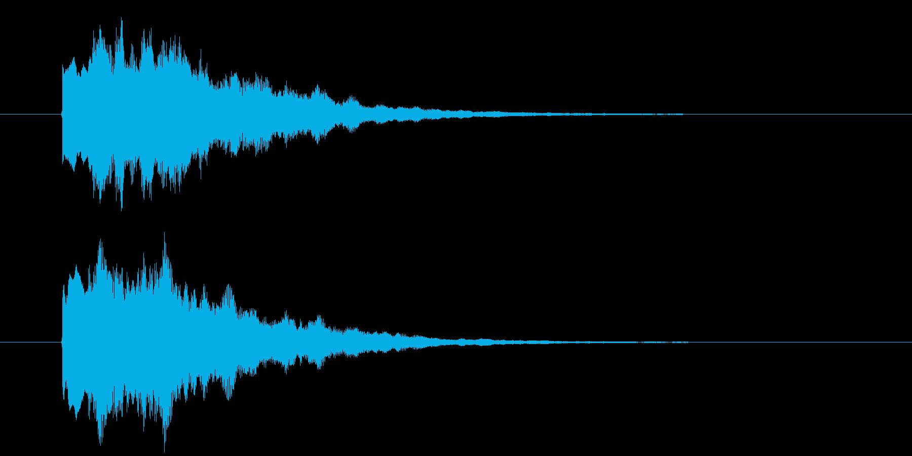ゲーム、クイズ(正解)_011の再生済みの波形