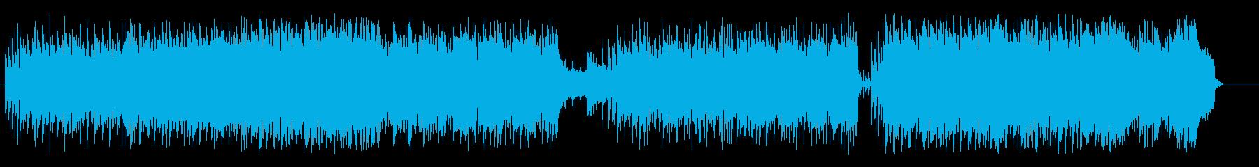 当たりさわりのないイージーポップロックの再生済みの波形