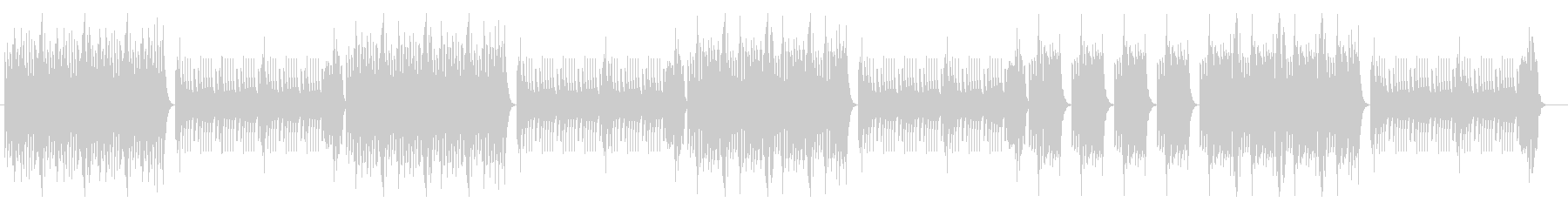 マリンバビブラフォン 陽気なラテンポップの未再生の波形