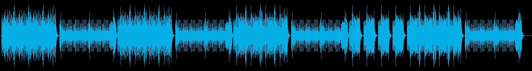 マリンバビブラフォン 陽気なラテンポップの再生済みの波形