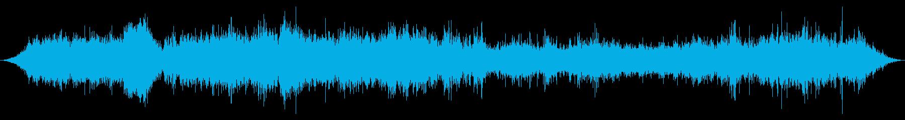 ロシアのオフロードジープオフロード...の再生済みの波形