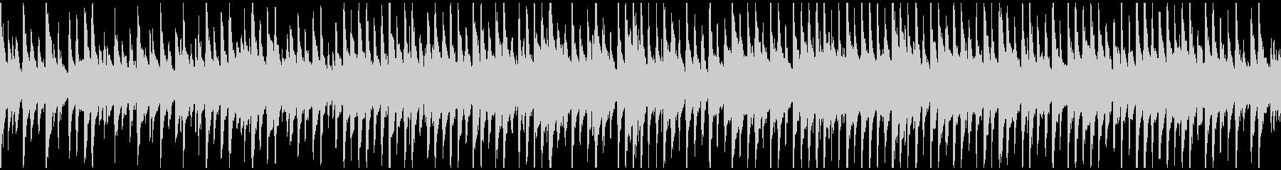 しっとり系のウクレレ曲 ※ループ仕様版の未再生の波形