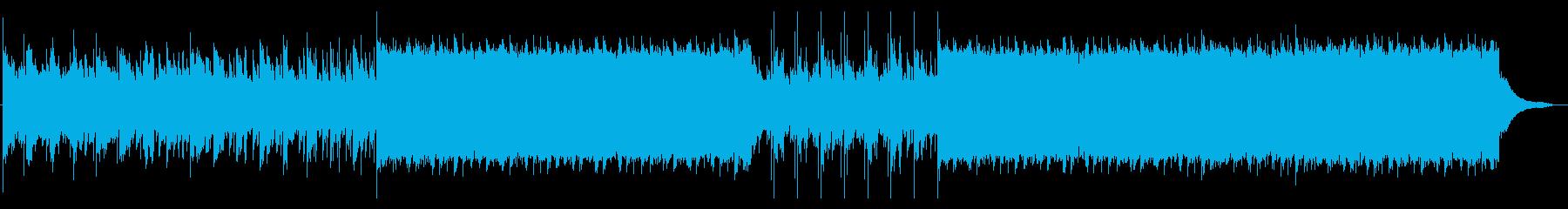 ホラー・緊張感・不気味・ダーク の再生済みの波形