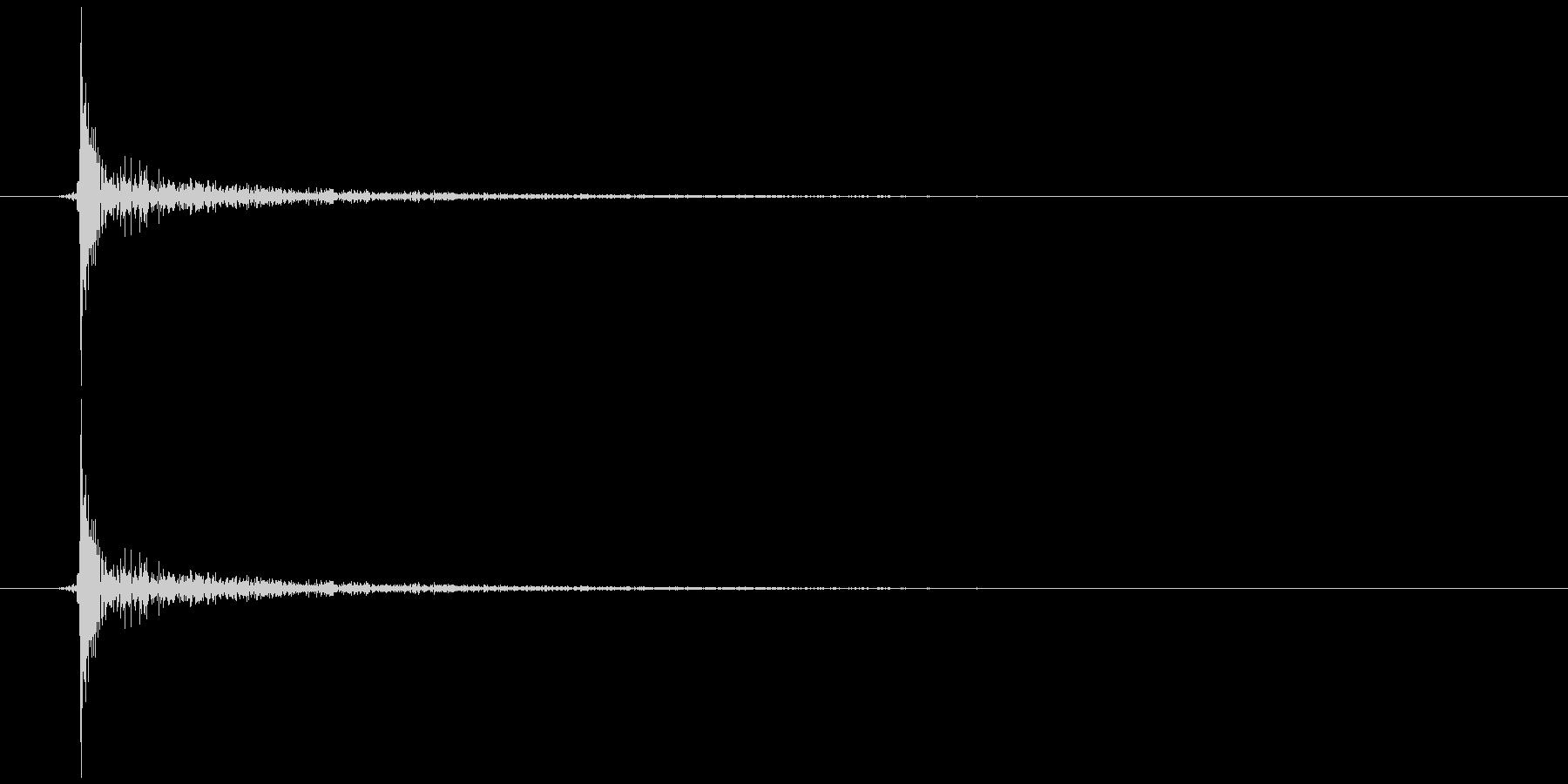 スイッチの未再生の波形
