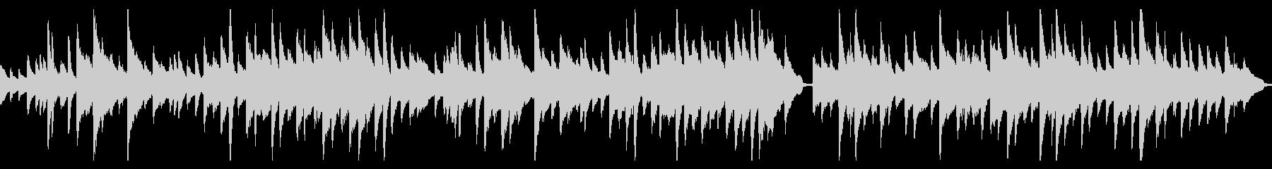 ほのぼのしたピアノのワルツ(ループ仕様)の未再生の波形