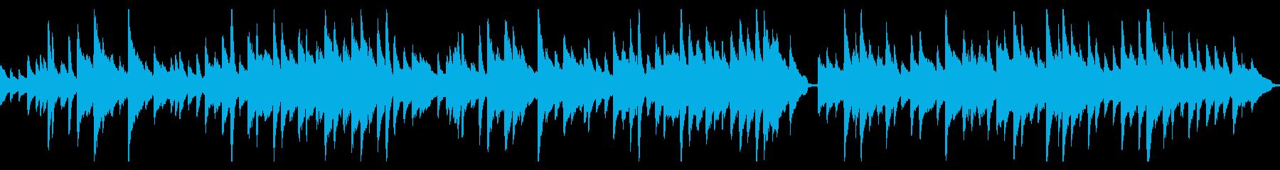 ほのぼのしたピアノのワルツ(ループ仕様)の再生済みの波形