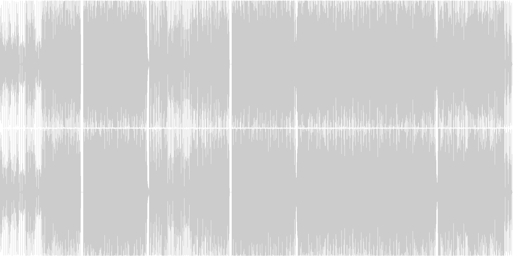 TIME-1の未再生の波形