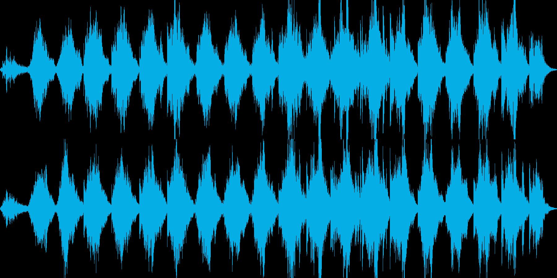 【ループ】涙で滲んだ視界のようなBGMの再生済みの波形