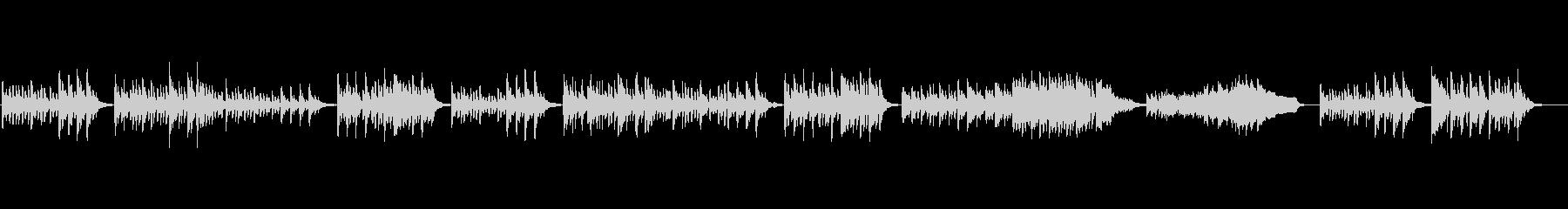 ピアノソロ、チェルニー No.57の未再生の波形