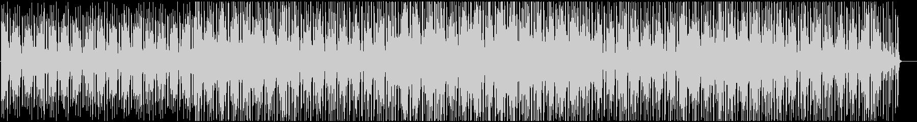 ゆったりボサノバの未再生の波形